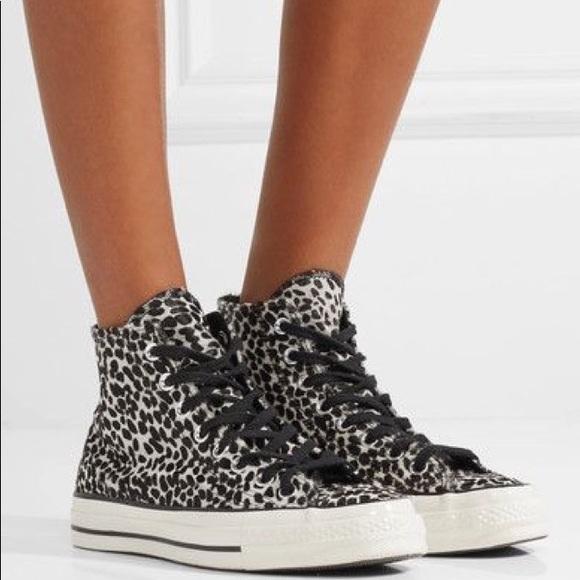 4bd5f704722b Converse Shoes - Converse All Star Hi 70 Cheetah Pony Hair Sneaker